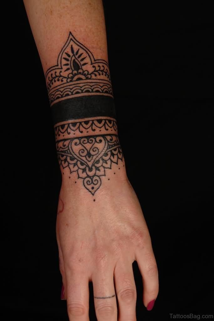 56ffb2bea32ce Elegant Mandala Tattoo On Wrist