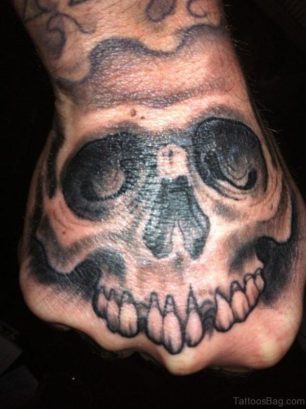 Elegant Skull Tattoo