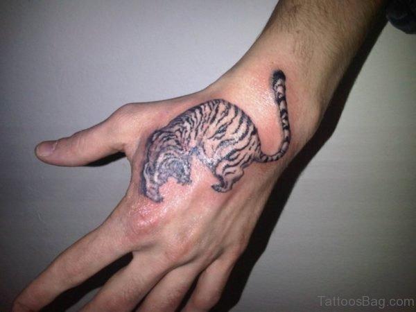 Elegant Tiger Tattoo