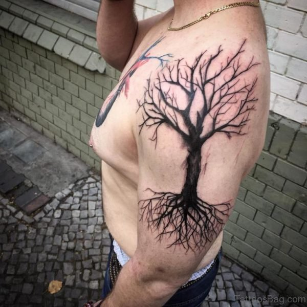 Elegant Tree Tattoo
