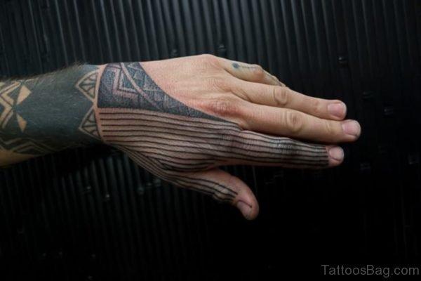 Elegant Tribal Tattoo