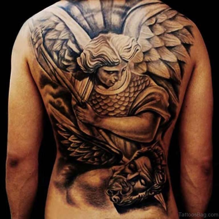 81 Brilliant Back Tattoos