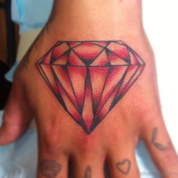 Excellent Diamond Tattoo