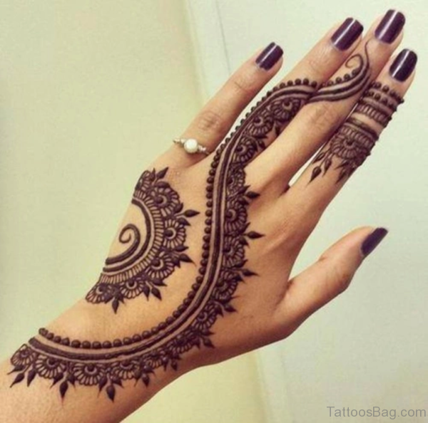 Excellent Mandala Tattoo On Hand