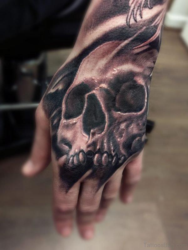 Excellent Skull Tattoo