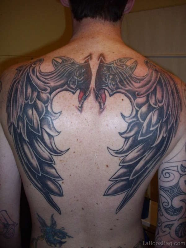 Excellent Wings Tattoo