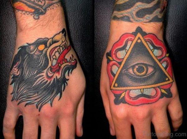 Excellent Wolf Tattoo