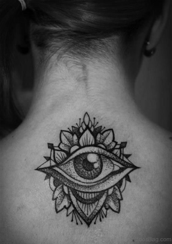 Eye Designer Mandala Tattoo