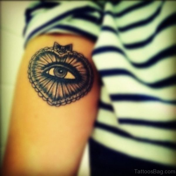 Eye Heart Tattoo