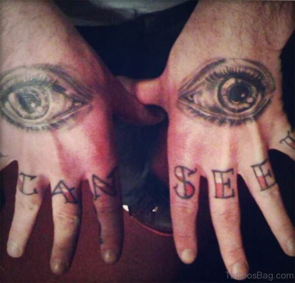 Eye Tattoo For Your Hand