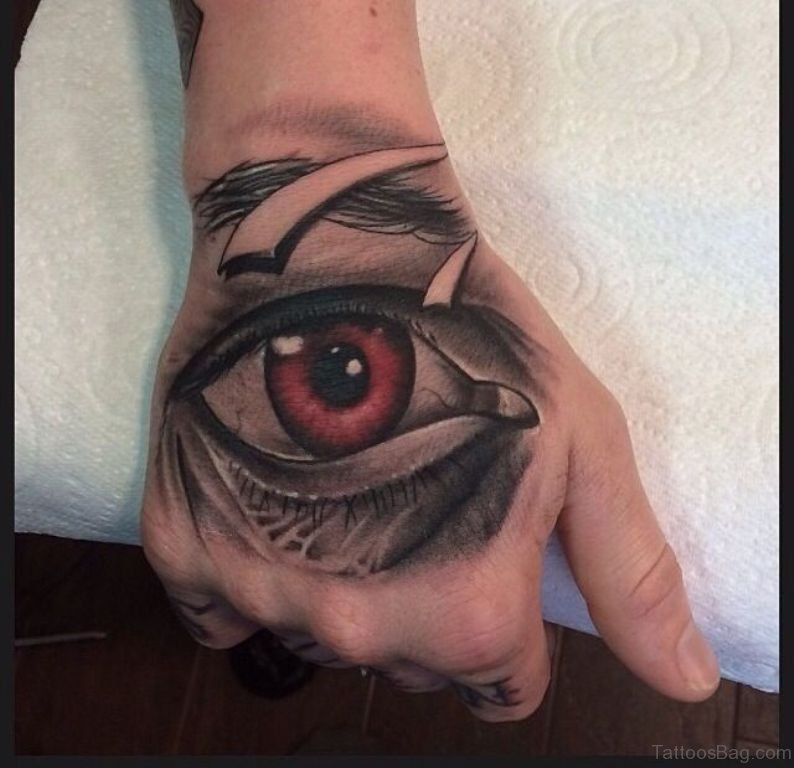 Eye Tattoos Designs Ideas And Meaning: 50 Classic Eye Tattoos On Hand