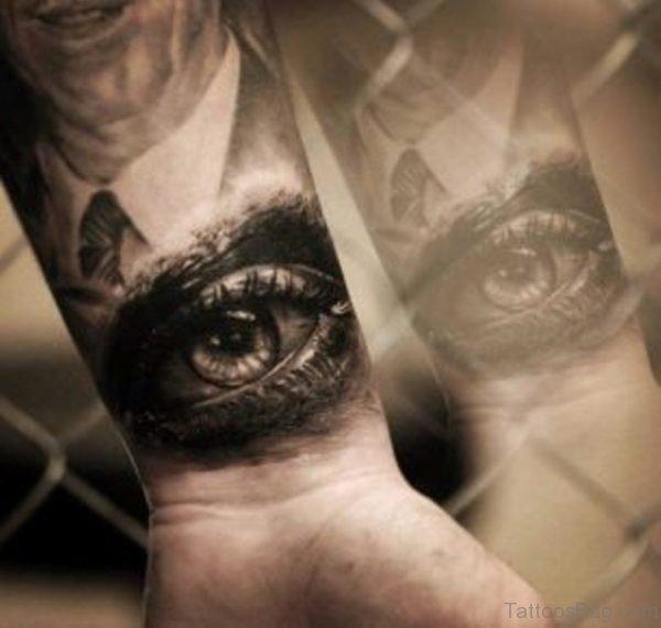 Eye Wrist Tattoo