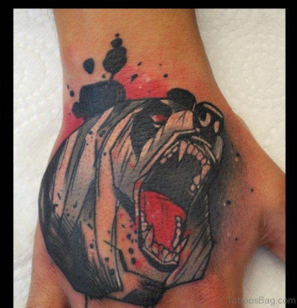 Fabulous Bear Tattoo