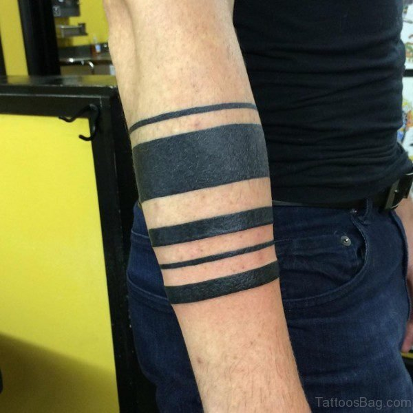 Fabulous Band Tattoo On Arm