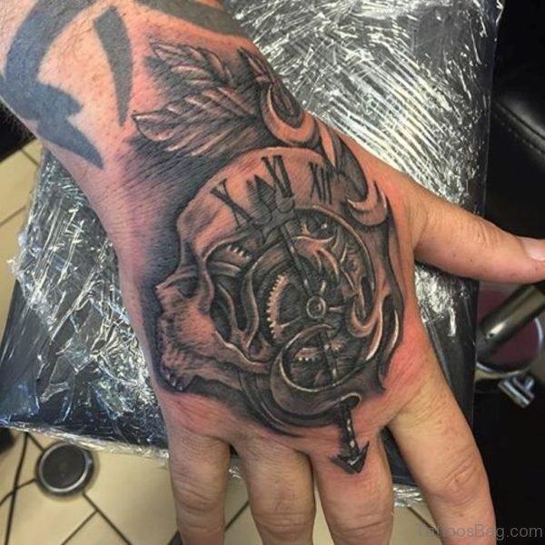 Fabulous Clock Tattoo