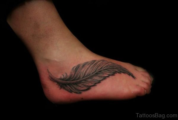 Fabulous Feather Tattoo Design