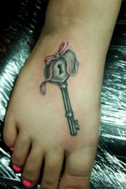 Fabulous Key Tattoo