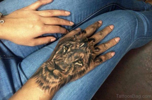 Fabulous Lion Tattoo