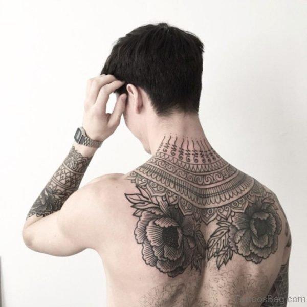 Fabulous Nape Tattoo