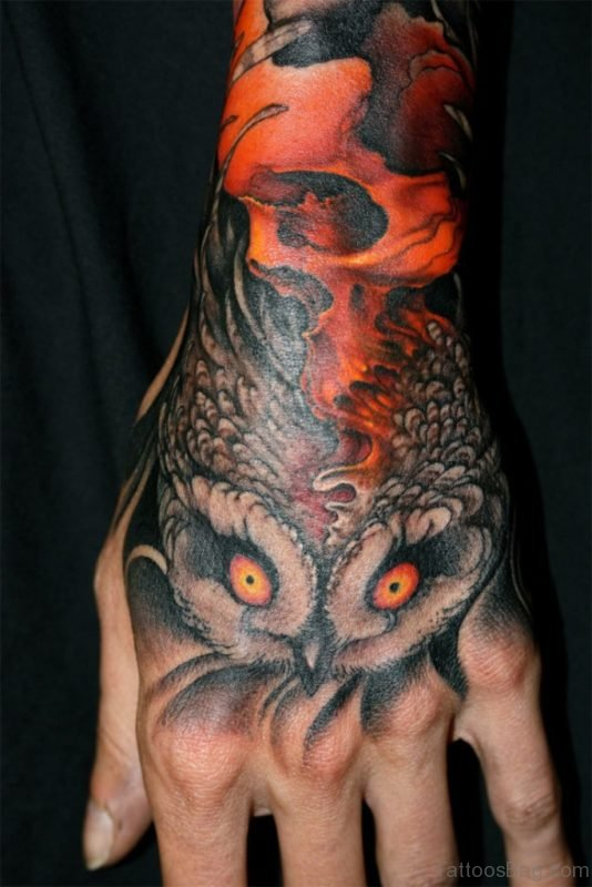 Fabulous Owl Tattoo