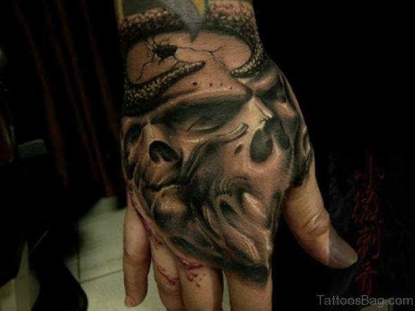 Fabulous Skull Tattoo Design