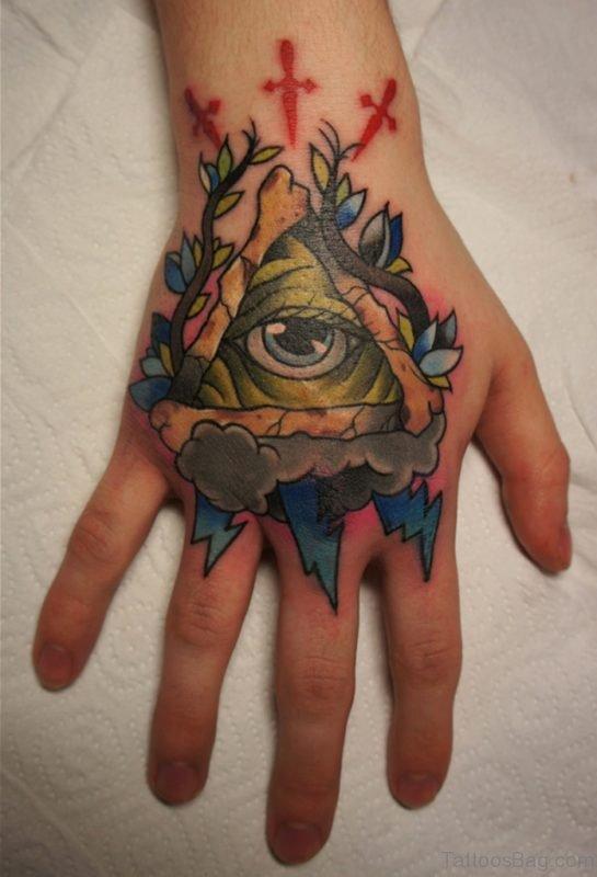 Fabulous eye tattoo
