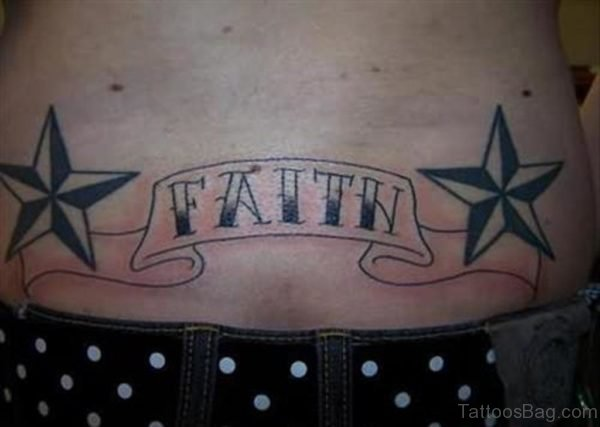 Faith And Star Tattoo