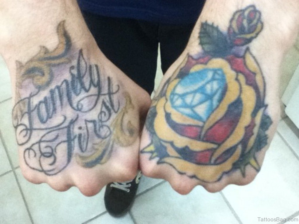 9ef83021c Excellent Diamond Tattoo. Family Fire