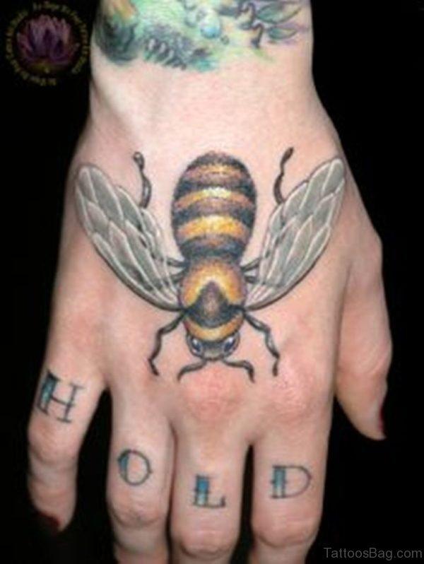 Fancy Bee Tattoo