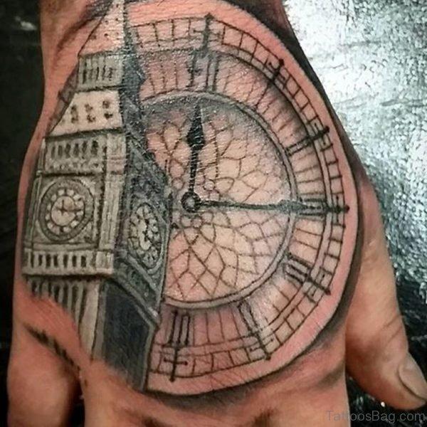 Fancy Clock Tattoo