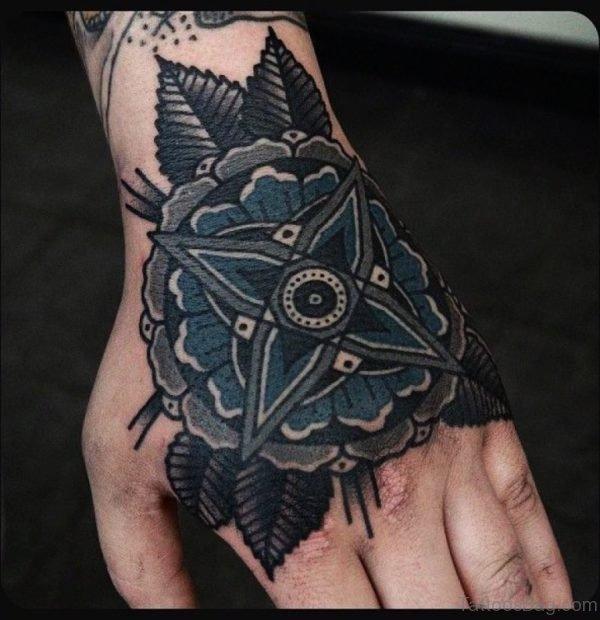 Fancy Flower Tattoo