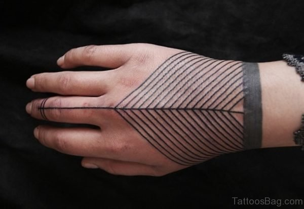 Fancy Geometric Tattoo