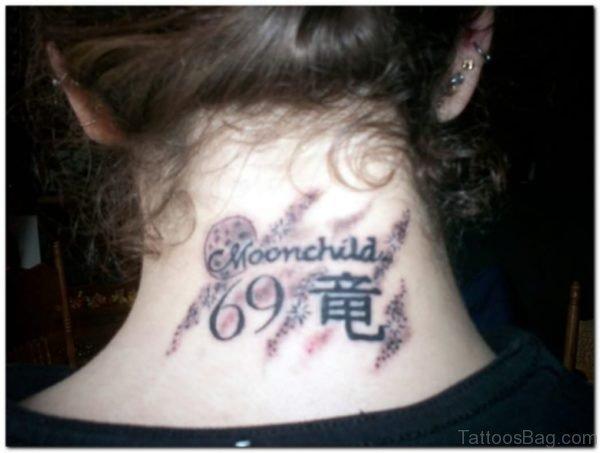 Fancy Nape Tattoo