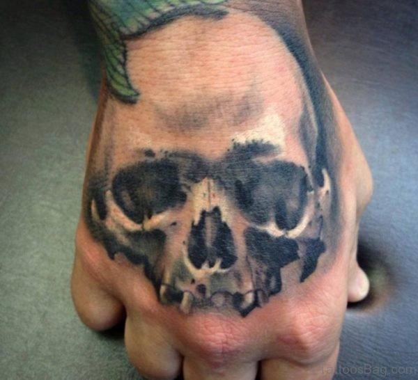 Fancy Skull Tattoo