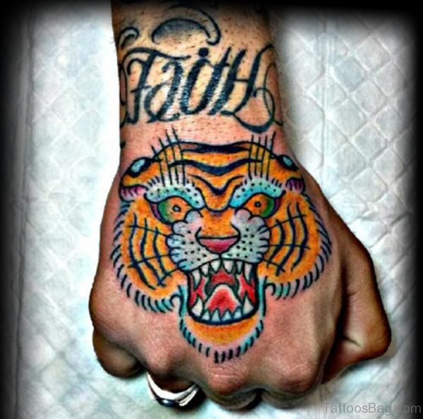 Fancy Tiger Tattoo