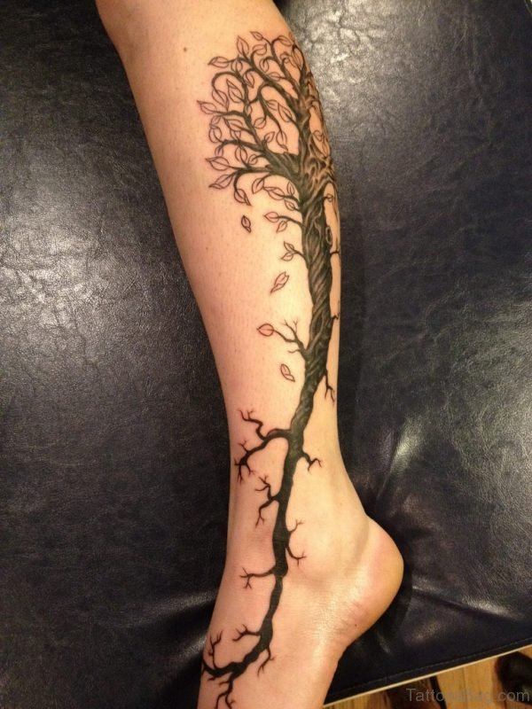 Fancy Tree Tattoo