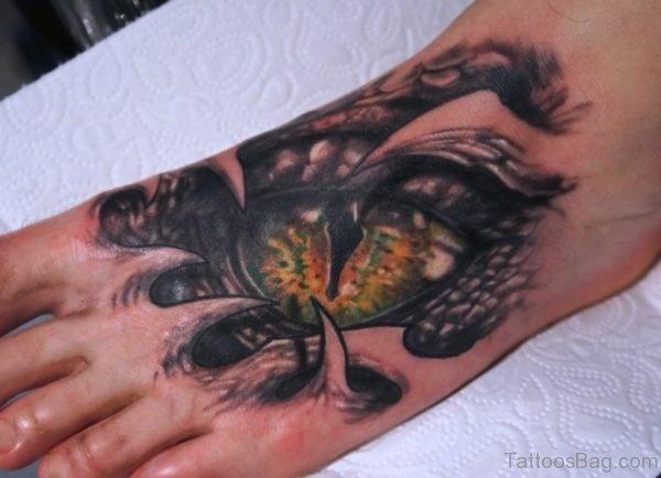 Fantastic Eye Tattoo