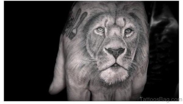 Fantastic Lion Tattoo