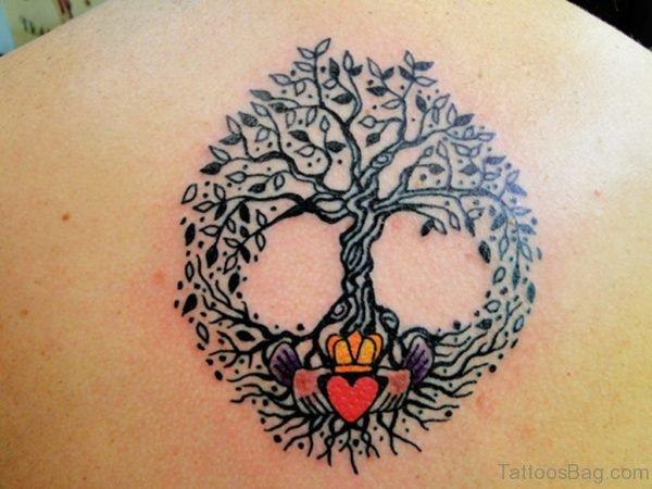 Fantastic Pagan Tree Tattoo