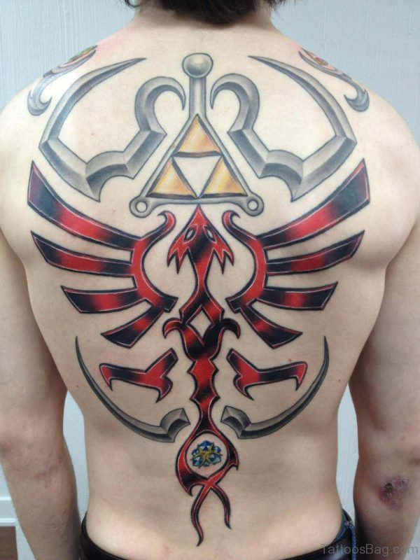 Fantastic Tattoo On Back Body