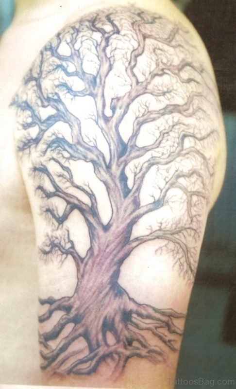 Fantastic Tree Tattoo