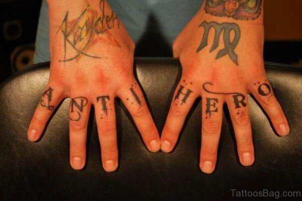 Fantastic Wording Tattoo