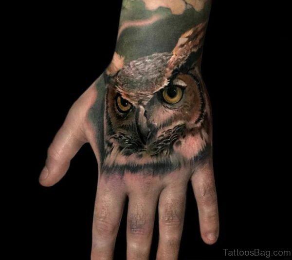 Fantastic Owl Tattoo
