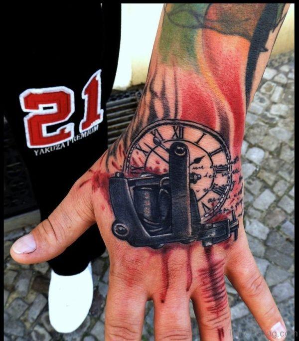 Fantastic Clock Tattoo