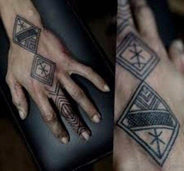Fantatsic Geometric Tattoo