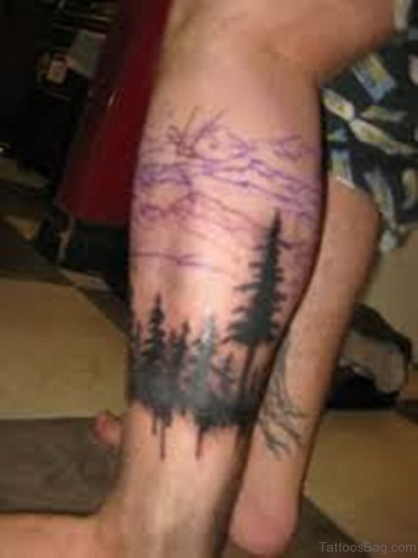 Fantastic Tree Tattoo Design