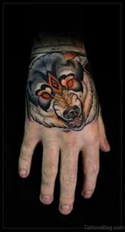 Fantatsic Wolf Tattoo