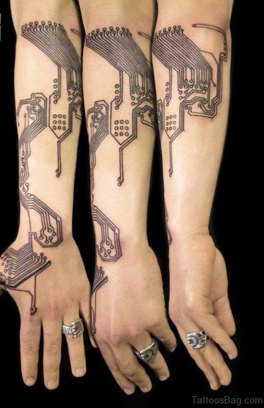 Fantastic Arm Tattoo
