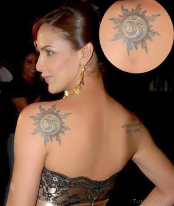 Fantastic Back Tattoo
