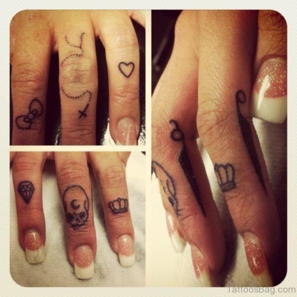 Fine knuckle Tattoo